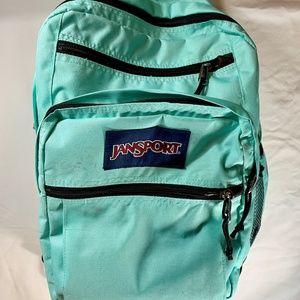 JanSport Girls Big Student Packpack Seafoam Green